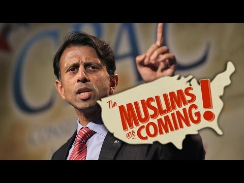 Bobby Jindal Warns Of Muslim Invasion In USA