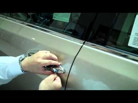How To Enter A Lexus With A Dead Key Fob Youtube