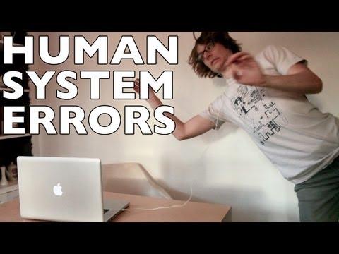 Los errores de sistema más comunes en los seres humanos