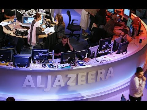 AL JAZEERA NETWORK, IN TURMOIL, IS NOW THE NEWS