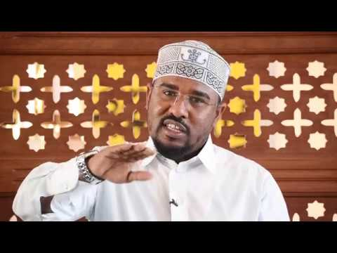 (Day 7) Minong'ono Ya Kheri - Sheikh Yusuf Abdi