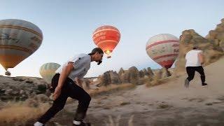 Shooting a Parkour POV in Cappadocia 🇹🇷