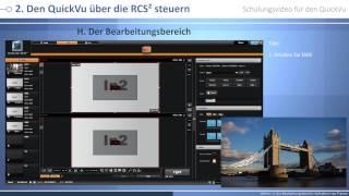 QuickVu - QVU150 Schulungsvideo : Mixer modus