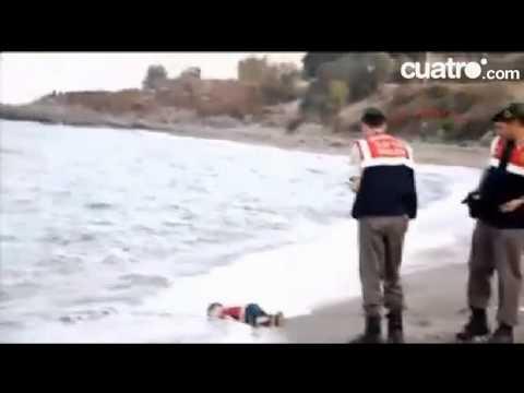 El terrible video de cuando encuentran el cuerpo del niño