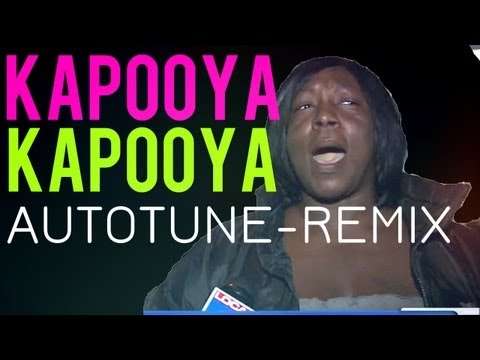 KAPOOYA - AUTOTUNE REMIX! (Original) - NOW ON ITUNES !!