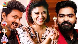 Love Meter finds Oviya's REAL Love   90 ML Tamil Movie Interview   Vijay, Simbu, Aarav