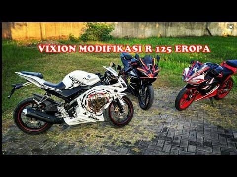 New vixion modifikasi ala r125 by chandra ae'custom.