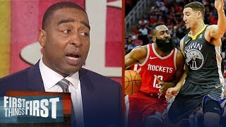 Cris Carter on why Klay is better than James Harden, D'Antoni's strategy | NBA | FIRST THINGS FIRST