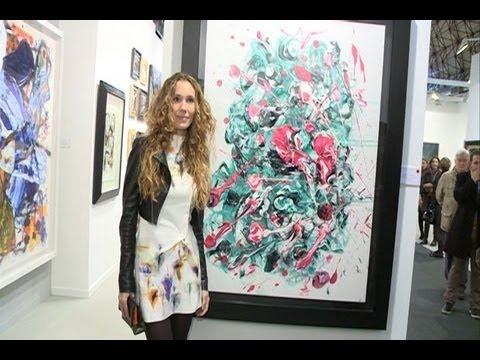 El cuadro de Blanca Cuesta, vendido por 4.000 euros