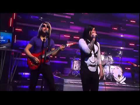 Escape The Fate - Gorgeous Nightmare (Live @ The Daily Habit)