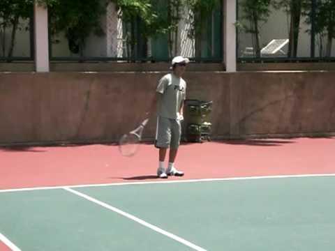 テニス 金子英樹プロ グランドストローク
