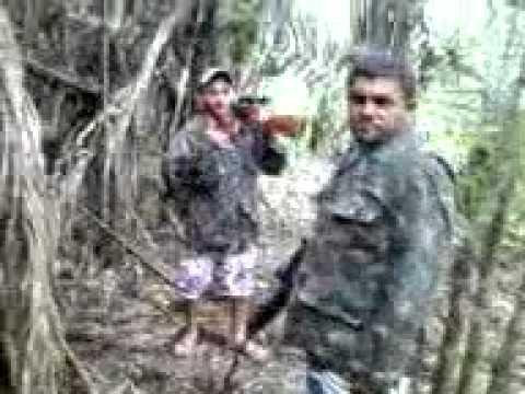 caçada com carabina de pressão CUPIM DE AÇO PREPARAÇÕES