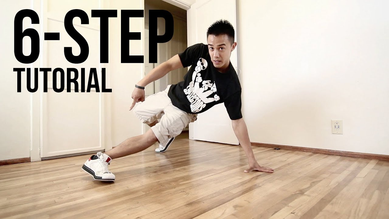 How to Breakdance   6 Step   Footwork 101 - YouTube