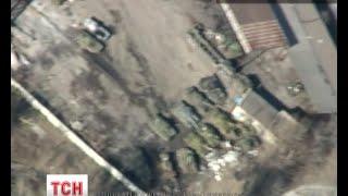 Аеророзвідка зняла танки на вулицях Донецька - (видео)