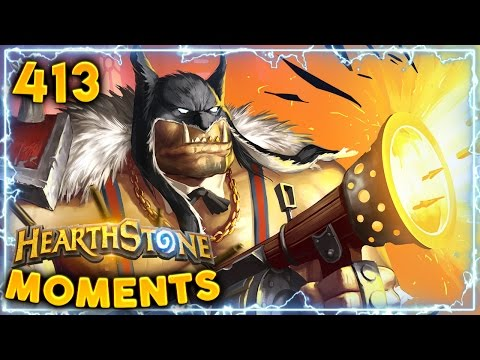 Greatest Comeback Ever..!!   Hearthstone Un'Goro Daily Moments Ep. 413 (Funny and Lucky Moments)