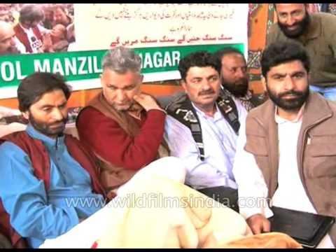 Yasin Malik begins 30-hour hunger strike : Kashmir Strife
