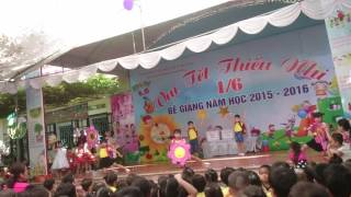 Trường mầm non Hoa Hồng Bắc Ninh - Bế giảng tạm biệt búp bê thân yêu