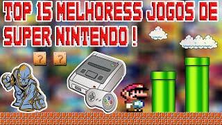 Top 15 Melhores Jogos De Super Nintendo