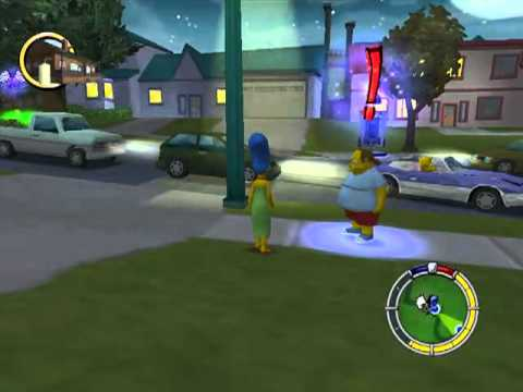 Lets Play Simpsons Hit & Run 10 - Marge al ataque! Con la colaboracion...