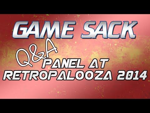 Game Sack Q&A Panel at Retropalooza 9-20-2014