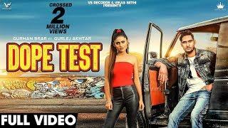 Dope Test | Full Hd Video | Gurman Brar & Gurlez Akhtar | Music Empire | New Punjabi Songs VS Record