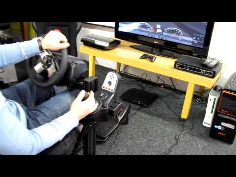 Race-Star EVO GT Playseat with Logitech G27