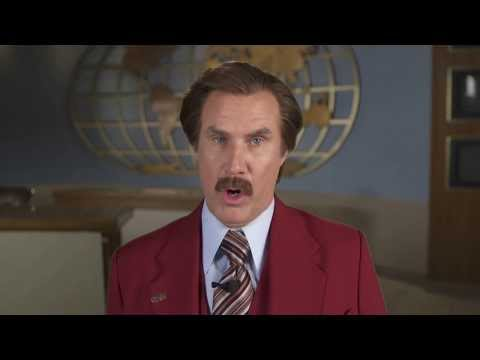 Anchorman 2 - A Wake Up Message from Ron Burgundy