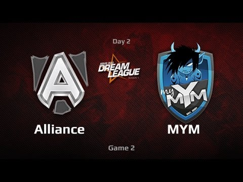 Alliance vs MYM, DreamLeague Day 2, Game 2