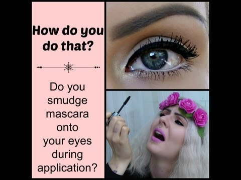 How to apply mascara (no smudging, top & bottom lashes) Makeup tips