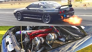 1200hp TWIN TURBO Skyline R32