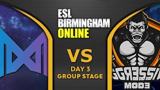 NIGMA vs Aggressive Mode - GAME OF THE DAY! - ESL One Birmingham 2020 Highlights Dota 2
