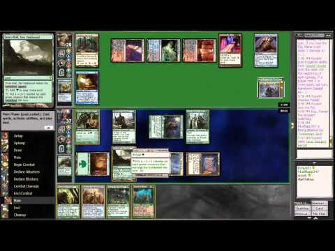 MTG: Commander-EDH: BEAR FORCE 1 - Yeva, Nature's Herald vs. Sedris, the Traitor King