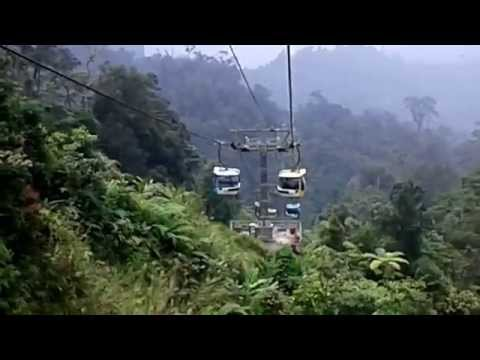 MALAYSIA TOURISM: GENTING HIGHLANDS CABLE CAR RIDE