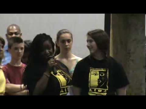 AIDA Post Show Speeches Caravel Academy 2013