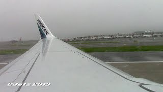 WestJet Boeing 737-8CT Onboard Takeoff at John F. Kennedy Airport