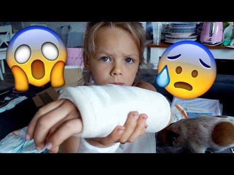 Miley hat sich den Arm gebrochen!