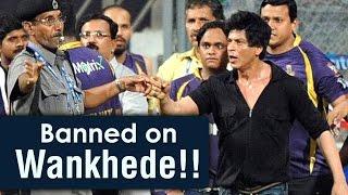 Mumbai Cricket Association lifts Wankhede ban on Shah Rukh Khan - Bollywood Latest News