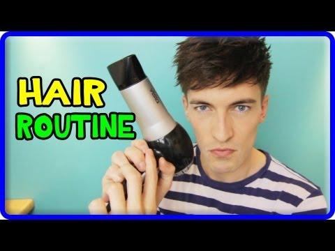 MY HAIR ROUTINE! (MEN'S MODERN HAIRSTYLE)