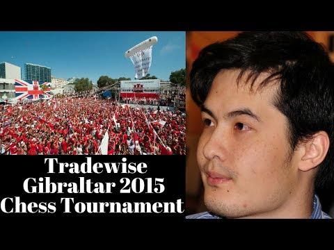 British Grandmaster David Howell at the Tradewise Gibraltar 2015 tournament
