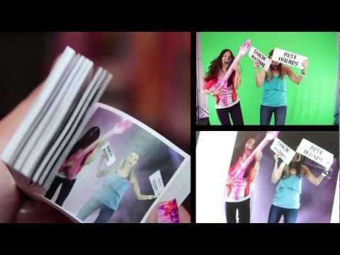Making A Flipbook with Ashley Argota at the GBK KCA's Gifting Lounge