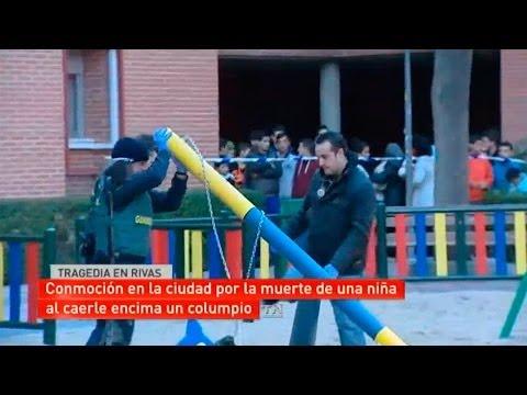 Tragedia en Rivas Vaciamadrid: una niña fallece al caerle un columpio encima
