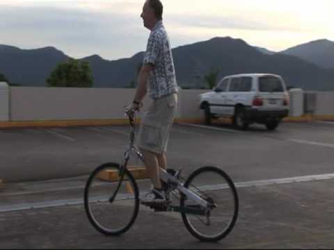 Levercycle: Radical  Standing  Bike