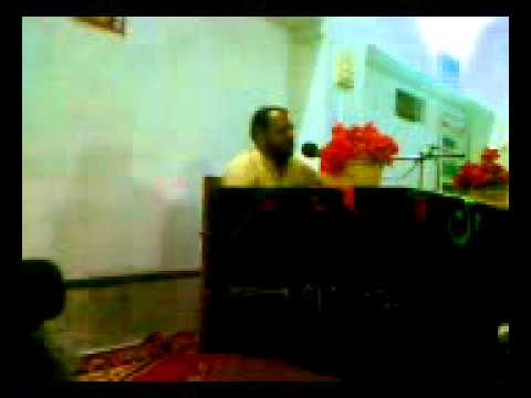 Manzoor Solangi Majlis Daur City On 14 07 2011 Part P5 # video