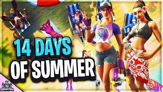 *NEW* 14 DAYS OF SUMMER EVENT BEACH BOMBER SKIN DEEP DAB UPDATE ITEM SHOP (Fortnite Battle Royale)