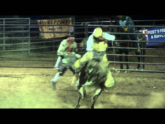 Bull Riding At The Grand Canyon Pro Rodeo January 12th 2013