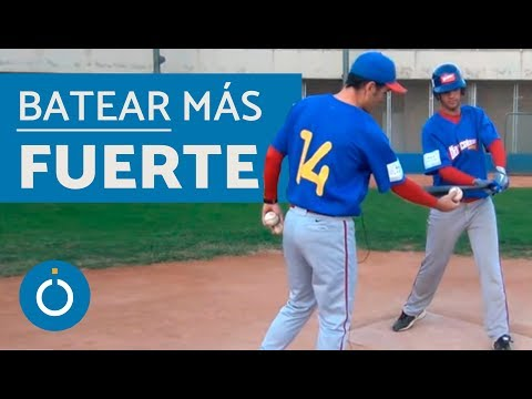 Cómo batear más fuerte en Béisbol - baseball