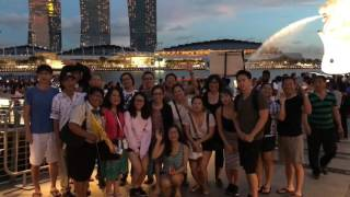 Singapore by night tour with AV Travel & Tours