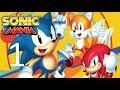 Nostalgia Overload Sonic Mania Part 1 Green Hill Zone Chemical Plant Zone Studiopolis Zone mp3