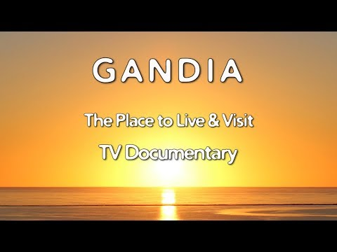 Costa Blanca Movie Gandia TV Documentary 2017 The Place to Live & Visit (13 min)