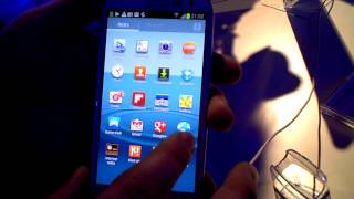 Samsung Galaxy S III - Hands On Walkthrough